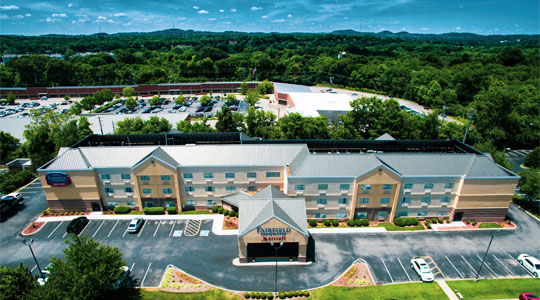 Fairfield Inn & Suites by Marriott Nashville Exterior