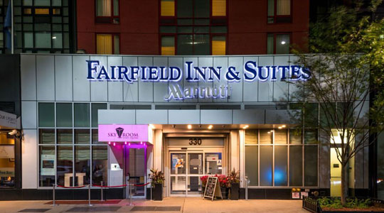 Fairfield Inn & Suites Times Square Exterior
