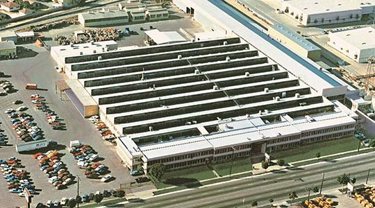 Arial image of Gehr Commerce
